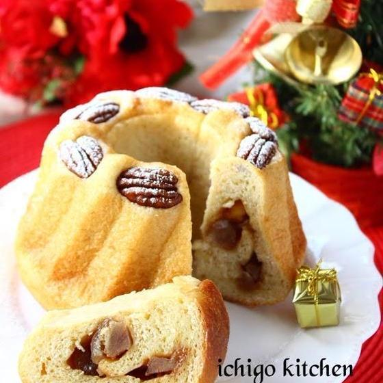 【12月自家製酵母パン講座】クリスマス特別講座