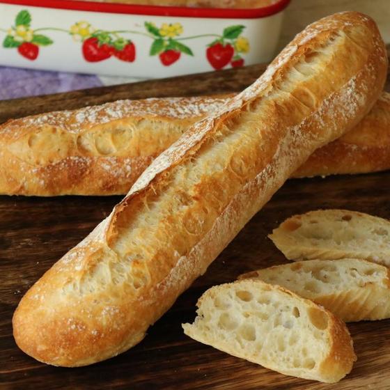 【自家製天然酵母パン】ホーローひとつでできる!バゲット