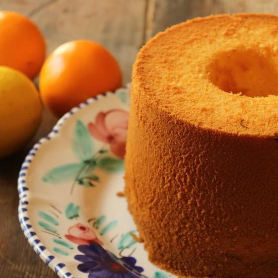 レモン酵母 シフォンケーキ