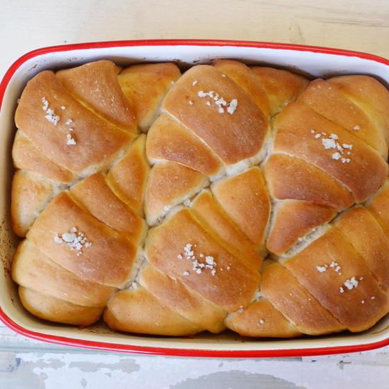 【録画視聴型 】ホーロー塩バターパン