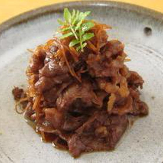"""手軽に作れる常備菜 """"和牛しぐれ煮""""の作り方"""