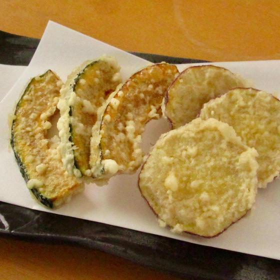 ご家庭でかぼちゃとさつま芋の天ぷらを美味しく揚げるコツ