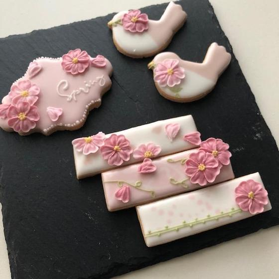 <1DAY>桜のアイシングクッキーレッスン