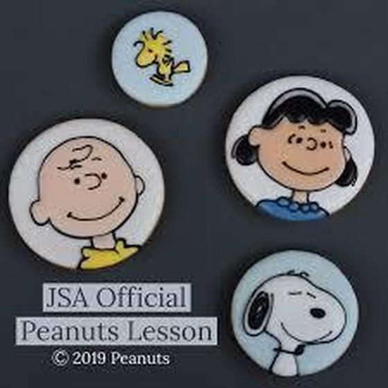 アイシングクッキー スヌーピーと仲間達 JSA公式レッスン