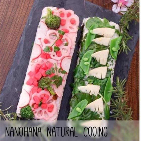 お花見弁当に、おもてなしに♪春の彩り押し寿司