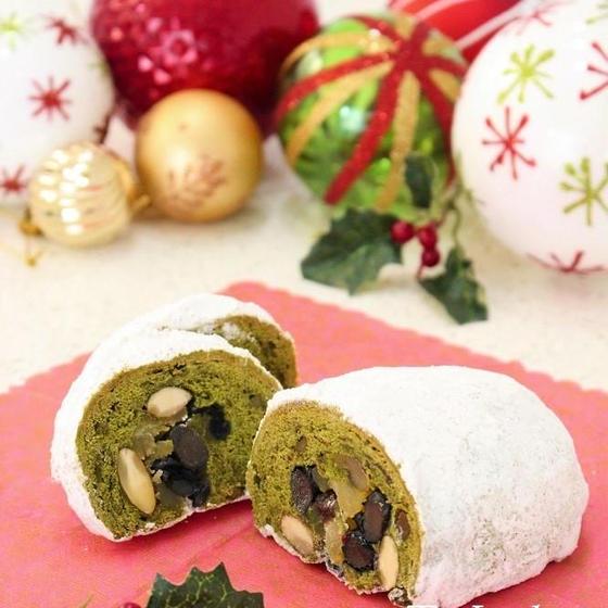 クリスマスにむけて「手ごねで抹茶シュトーレン」を作ろう!