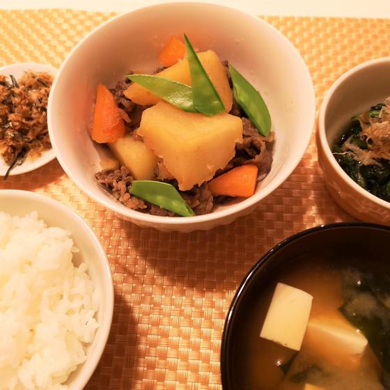 初めてでも安心!料理入門①肉じゃが&豆腐の味噌汁