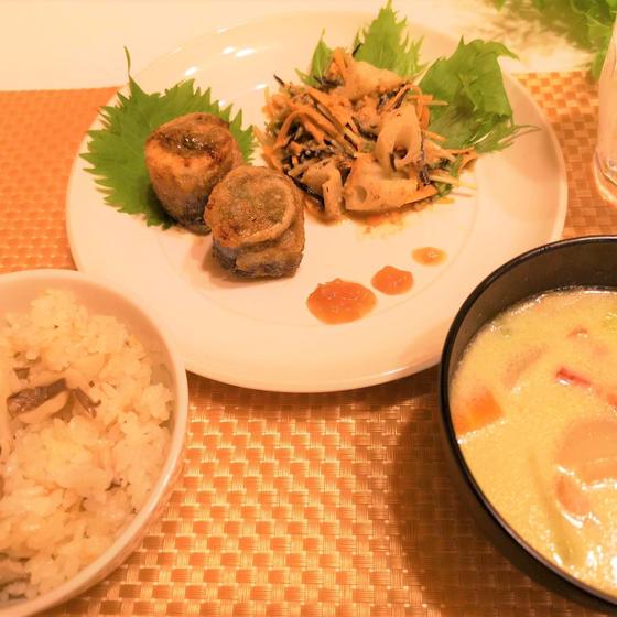秋の和食~魚の三枚おろし~