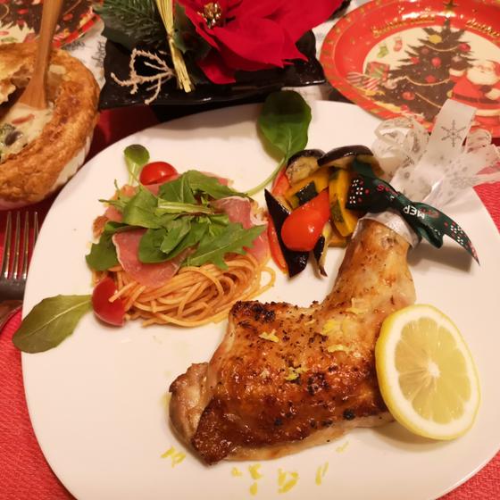 クリスマスディナー★ローストチキン~生レモン風味~・