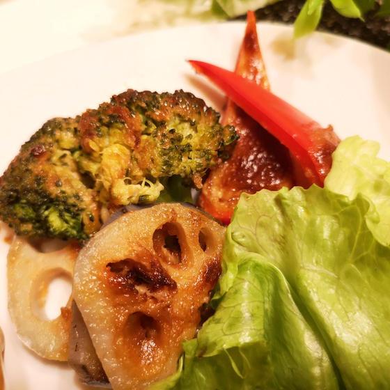 野菜の味噌マヨ焼き