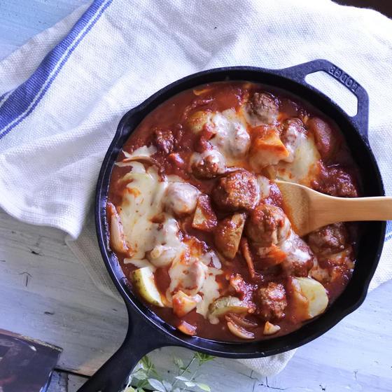 ・ミートボールのトマト煮