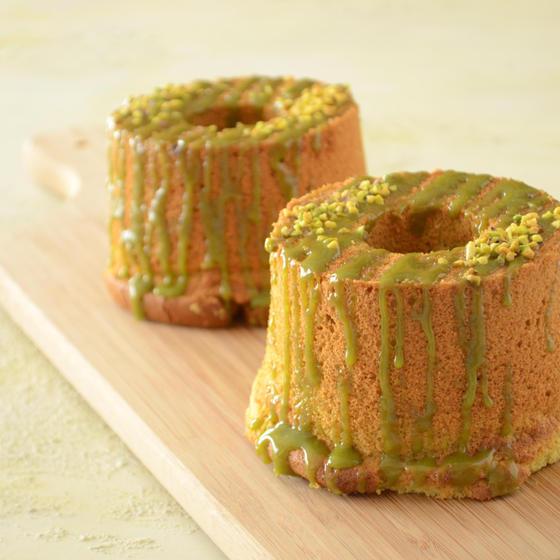 かわいいシフォンケーキを2台作ります!