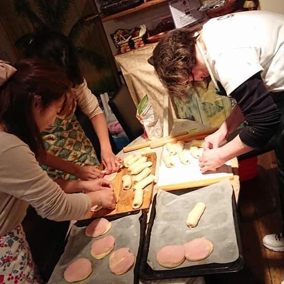 プライベートレッスン お店のパンが普通の家庭にある器具で~!