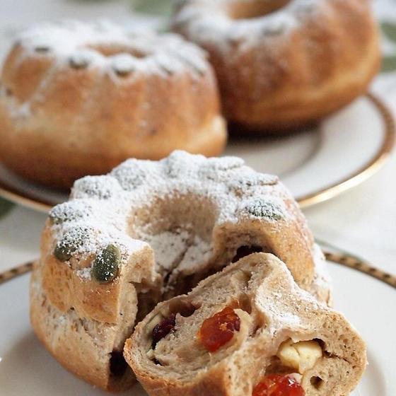 クリスマス 自家製酵母 クグロフ・ルージュ
