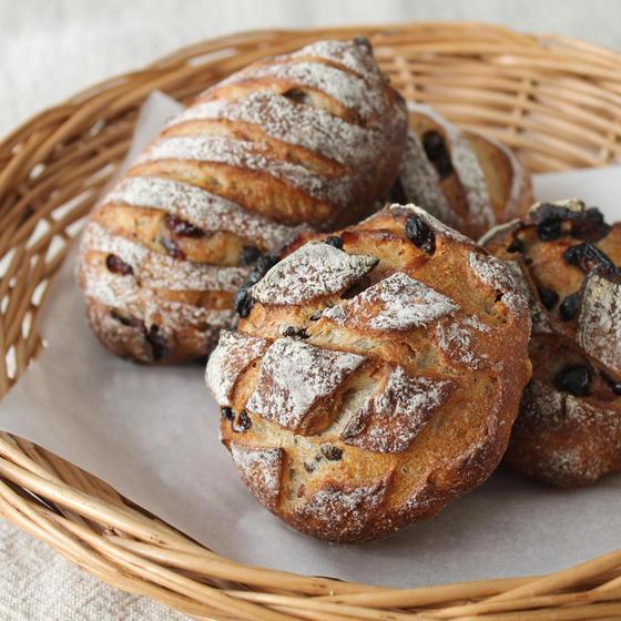 オンライン(2日間)*木の実のパン