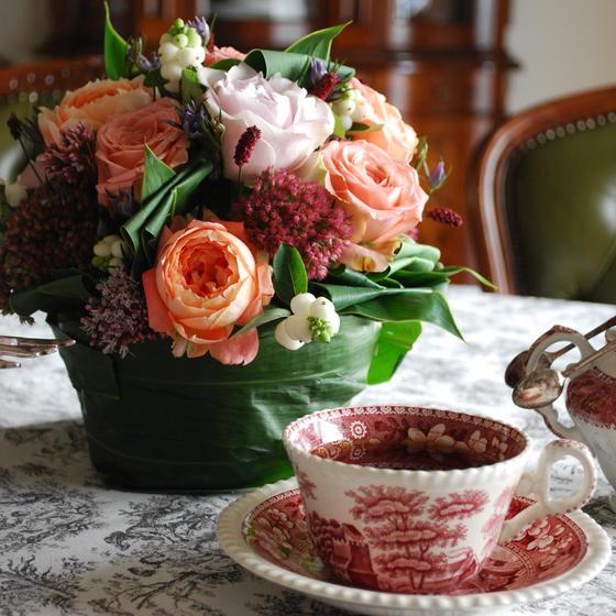 ダージリンオータムナルと薔薇色の紅茶会
