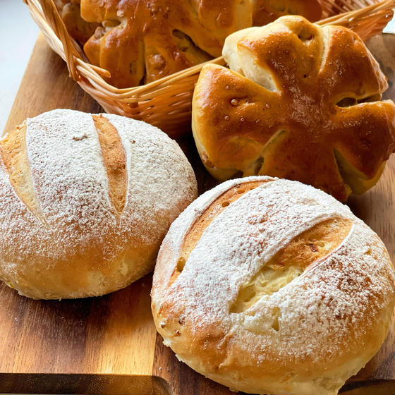 春のパン祭り「くるみパン&オニオンブレット」(グループ2名)