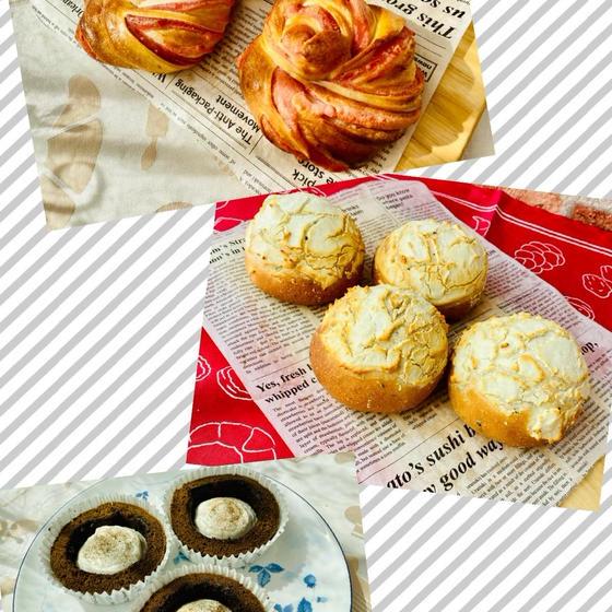 パンとお菓子