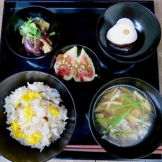 旬を楽しむ精進料理<長月>