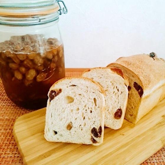 レーズン食パン&プルーンとくるみのステッィクケーキ