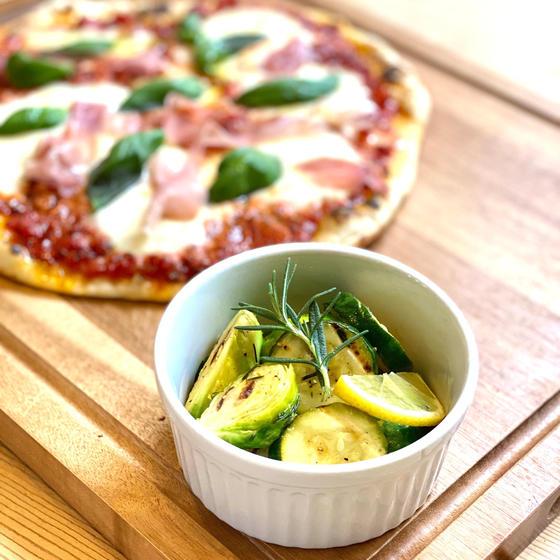 ズッキーニと季節の野菜のマリネ