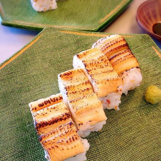 ふっくら煮穴子作って穴子の棒寿司が作れる女やけん