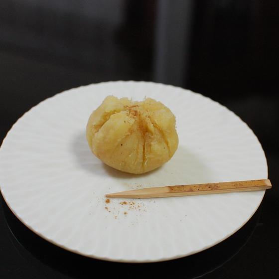 さつま芋とリンゴのきんとん