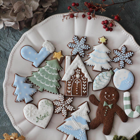 【単発★初心者向け】クリスマスのアイシングクッキーレッスン