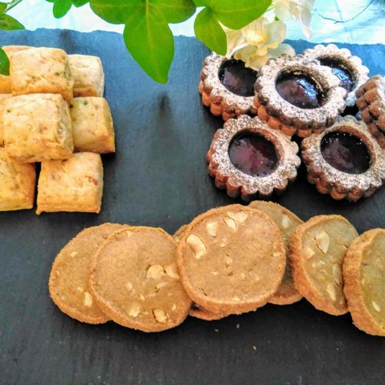 個性豊かな焼き菓子・ディアマンカフェ、その他2種レッスン♪