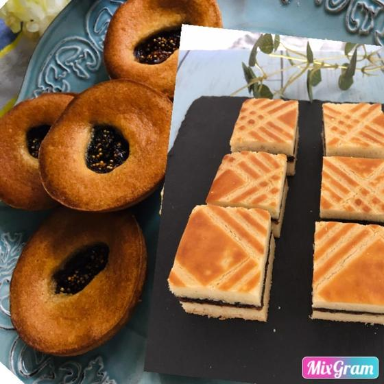 人気!2種の焼き菓子 エピセア&パヴェブルトン・プルーン