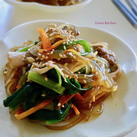 秋の韓国料理レッスン