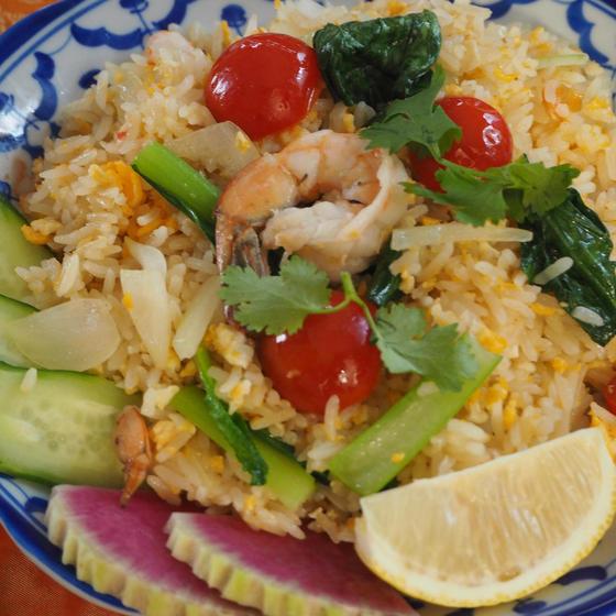 海老チャーハンを作ろう!タイの豆腐のスープは、絶品ですよ!