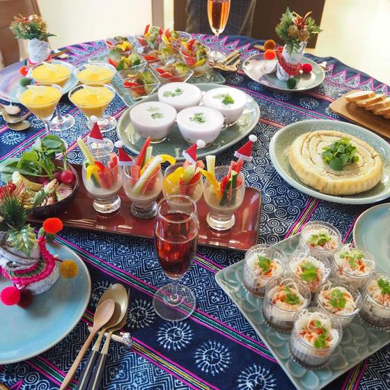 パーティー料理Part3 お洒落な創作タイ料理6品作ります♥
