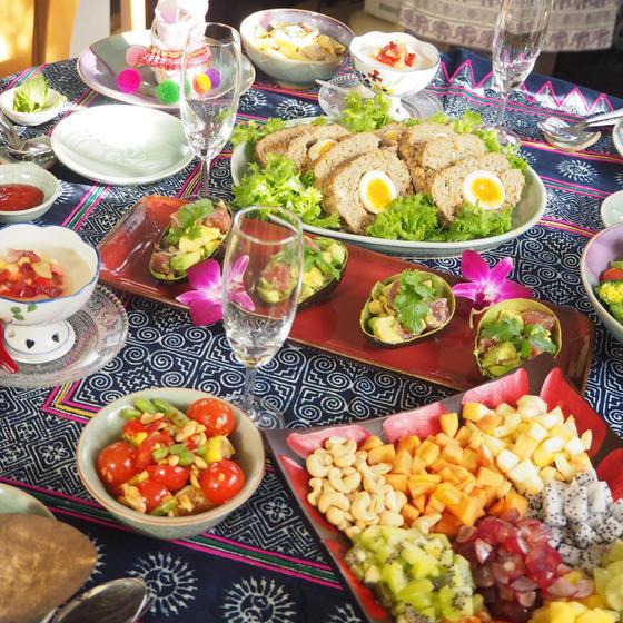 パーティー料理Part2   新メニューで華やかなテーブルに