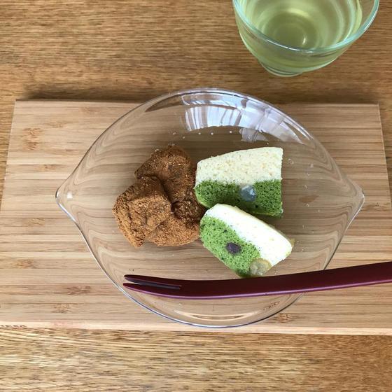 和菓子☆浮島とわらび餅