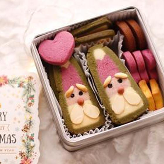 【オンライン】クリスマスクッキー缶♡サンタさんのくむクッキー