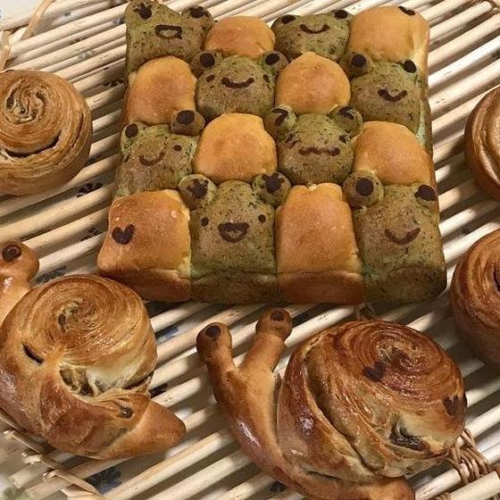 2色の野菜ちぎりパン&ぐるぐるメープル<瀬戸教室開催>