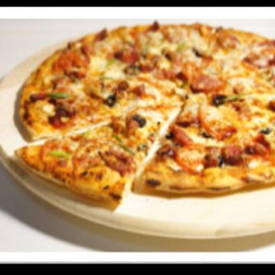 手ごねピザ&イングリッシュマフィン