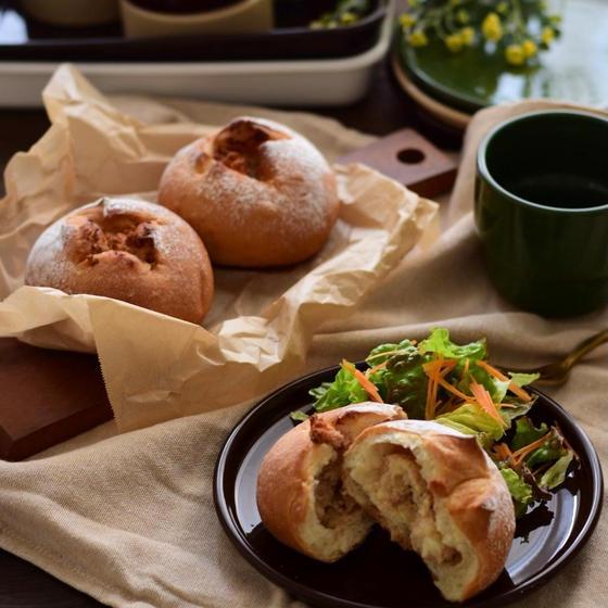【スイーツ生専門】じゃがたらフランス&黒糖発酵蒸しパン