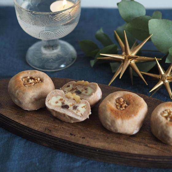 【おうちパンライブ講座】クリスマスのおうちパン2種