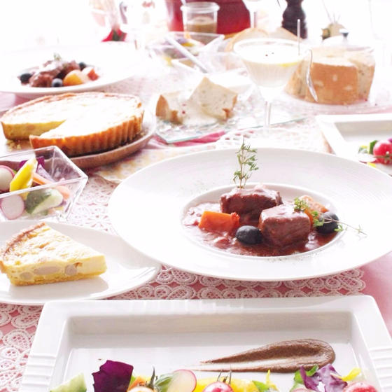夏に食べたい♡本格プロヴァンス料理のパワー!暑い日を元気に♪