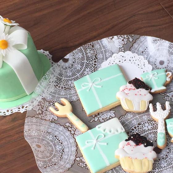 アイシングクッキー体験レッスン〜ティファニーでティータイム