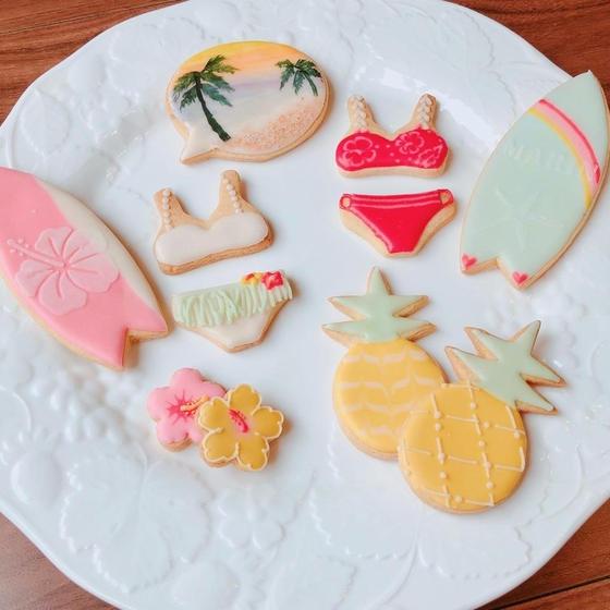 アイシングクッキーレッスン ~ハワイの思い出~