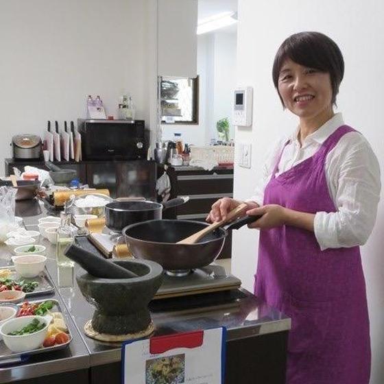 本格タイ料理!西小路有紀子さんの、タイ菜食料理レッスン