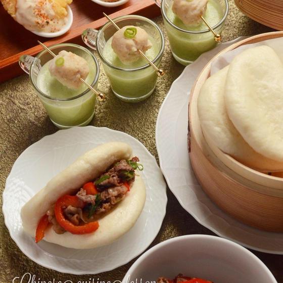 春節!割包(クワパオ)を作って華やかに中華のおもてなしを♡