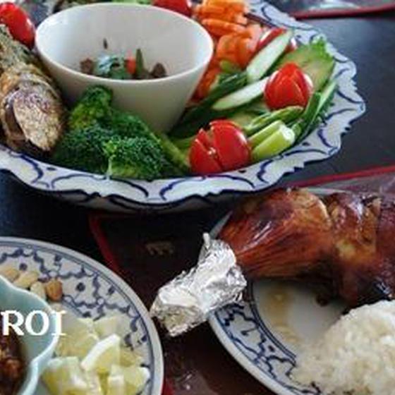 タイ料理入門♪ガイヤーン&タイ人のおふくろの 味ナムプリック