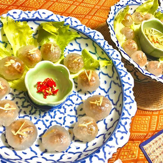 ☆クリスマスに☆おせちにも♪タイの前菜&タイ風角煮と煮卵