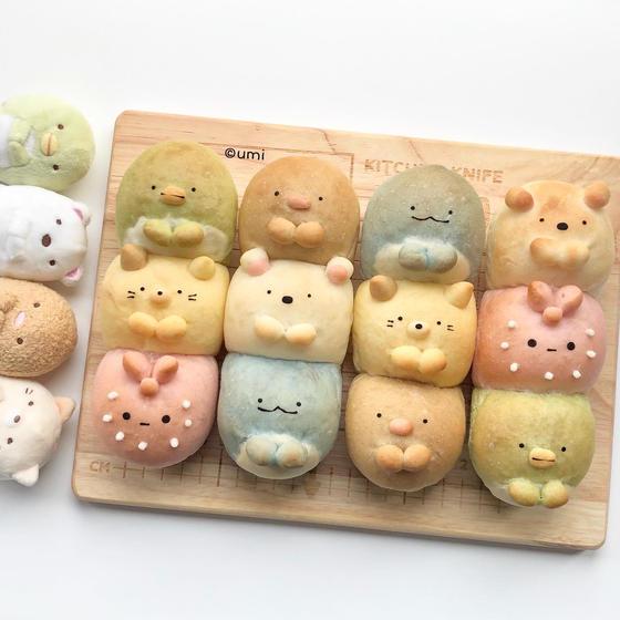 ドッグパン型ちぎりパン