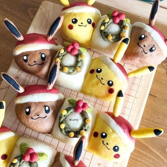 クリスマスレッスン☆ドッグパン型ちぎりパン