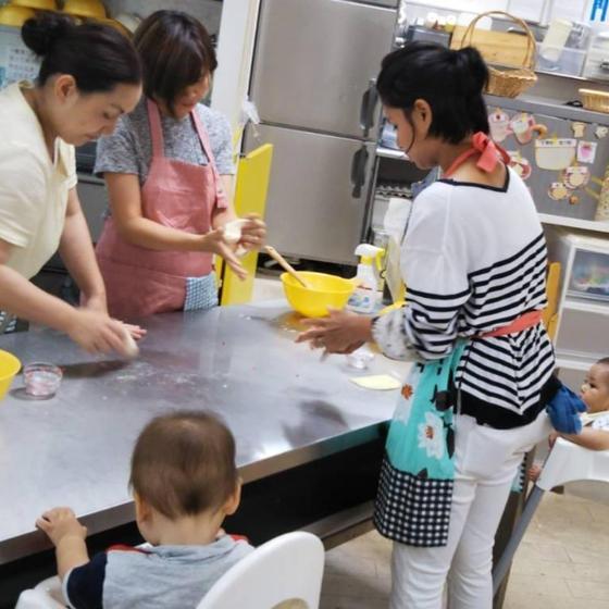 助産師、栄養士のいるmamaパン教室